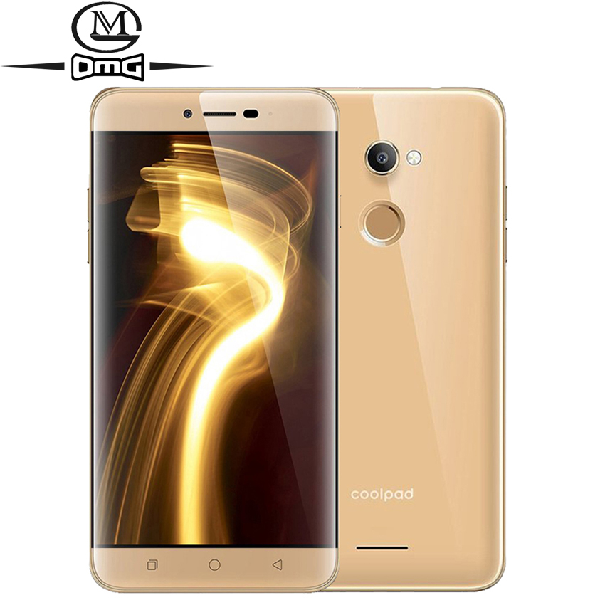 """Original Coolpad Note 3S Y91 Android 6.0 4G smartphone 5.5"""" Snapdragon 415 Octa Core 3GB + 32GB 13MP Fingerprint mobile phone"""