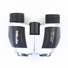 Free Shipping High Quality Brand New Mini Portable 10×22  Fixed Focus Optical Binocular Telescope (5m-10000m)