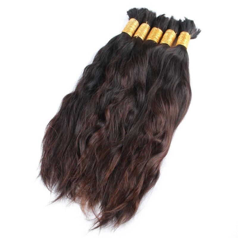 8A Unprocessed virgin Bulk Hair 1KG Human Braiding Hair Bulk 12