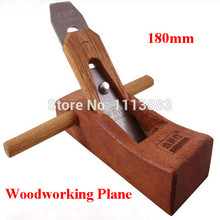 180mm Carpenter's Plane Woodworking Tools Carpentry Wood Wooden Smooth Plane Planing Tools seam plane floor construction tools