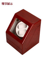 High Grade Watch Winder Red Watch Box Wooden Jewelry Box Gift Display Case Luxury Watch Storage Box