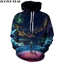 FASXXION Stranger Things Hooded Eleven Mens male Sweatshirts Oversized for Autumn