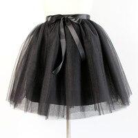5 Layers 65cm Long Dark Green Tulle Skirt Elegant Pleated Tutu Skirt Winter Skirts Womens Lolita