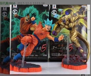 Freeza Dragon Ball Kakarotto Vs Ouro Japonês Figuras Anime Toy Figuras de Ação Pvc Coleção Modelo Para Presente de Natal/aniversário