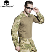EMERSONGEAR Gen3 Combat T shirt Military BDU Army Airsoft Tactical Gear Paintball Hunting Shirt A TACS FG EM8576