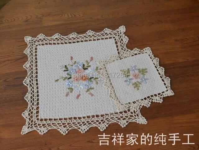 trasporto libero ikka fashion square pits cucina crochet centrini di ...