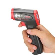 UNI T UT300S ללא מגע אינפרא אדום מדחום כף יד LCD טמפרטורת לייזר אקדח תעשייתי דיגיטלי אינפרא אדום מדחום