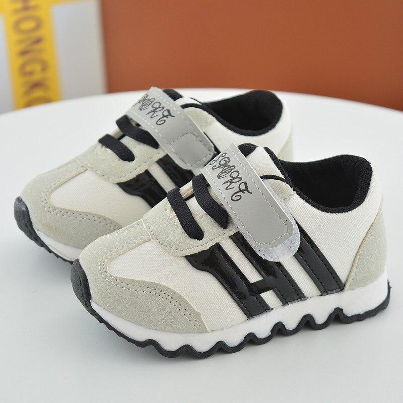 2018 Nowe buty dziecięce dla chłopców Dzieci z Canvas obuwie - Obuwie dziecięce - Zdjęcie 4