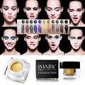 Profissional IMAGIC Crema de Belleza de 12 Colores de Sombra de Ojos Glitter Shimmer Maquillaje Sombra de Ojos A Prueba de agua de Larga Duración