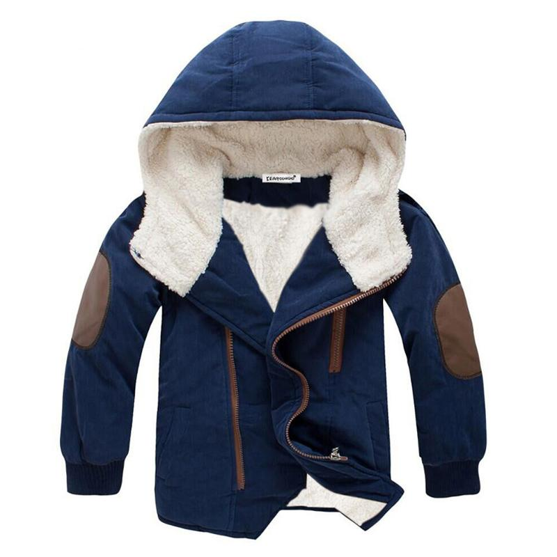 Baby Boys Jackets Kids Coats 2018 Winter Jackets For Boy Kids Hooded Warm Fur Outerwear Coat For Boys Children Clothing hsp070 a15 kids down coats and jackets 2018 boys long for youth children teenage winter coat outerwear girl thick warm fur hooded parka