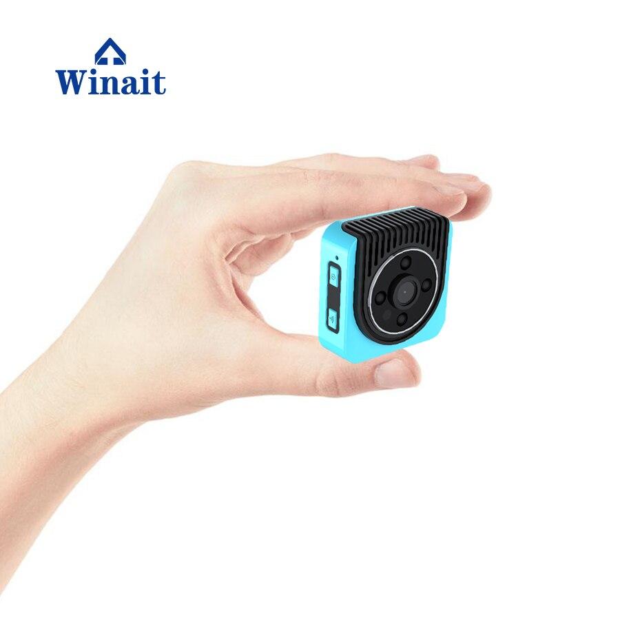 Winait Night Vision P2P IP Camera HD 1280*720 Portable Mini WIFI Cam DVR 150D Wide Lens TF Card Max To 64GB
