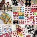 1Pcs 90*110cm Knitted Muslin Cloth Baby Blanket Plaid For Bed Sofa Cobertores Mantas BedSpread Bath Towels Play Mat Gift