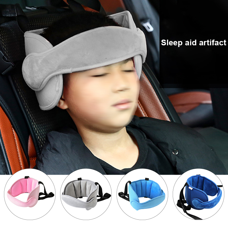 Child Assisted Sleep In The Car Safety Protection Headband Baby Fixed Head Safety Seat Support Head Comfortable Sleep