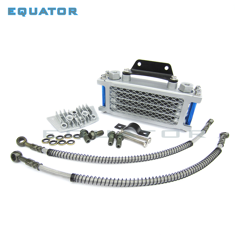 Motorcycle Parts Oil Cooling Cooler Radiator For 50 70 90