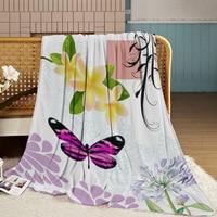 Hot Sell Super Soft Blanket 150X200cm Thick Custom made Polar fleece Blankets winter warm