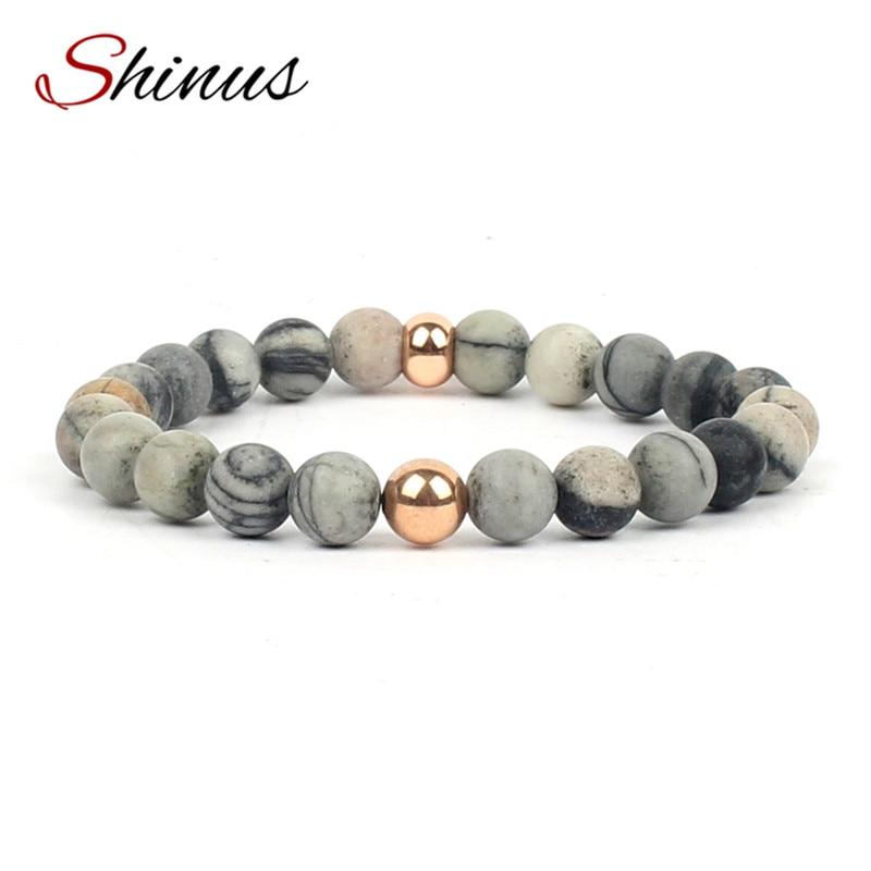Shinus Men Chakra Jewelry Bracelet Femmes