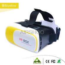 Original Trendy Google Cardboard VR BOX II 2.0 VR Virtual Reality 3D Glasses For 4″-6″ Smartphone (Yellow,Red,Green,Blue,Black)