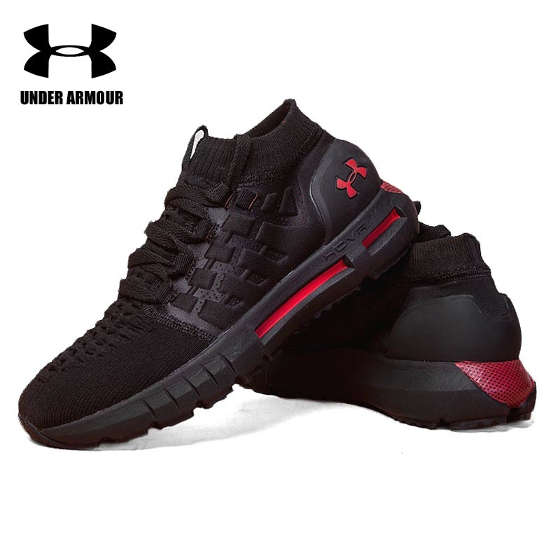 on sale f82cd c8e99 US $58.9 5% OFF|Under Armour UA HOVR Phantom Socks Shoes men Running  Walking Shoes Zapatillas Hombre Deportiva Comfort Light Cushion Sneakers-in  ...