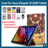 New Leather Stand Case Cover For ASUS ZenPad 10 Z300C Z300CL Z300CG Case Touch Pen Screen