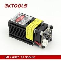 GKTOOLS 500mW 405nm 12V Blue Laser Module 2 54 3P TTL PWM Modulation For DIY CNC