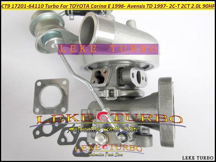 CT9 17201-64170 17201 64170 Turbo Turbocharger For TOYOTA Emina Previa Estima Lucida Carina Corona Picnic 3C-TE 3CTE 2.2L 90HP toyota carina e подержанную санкт петербург