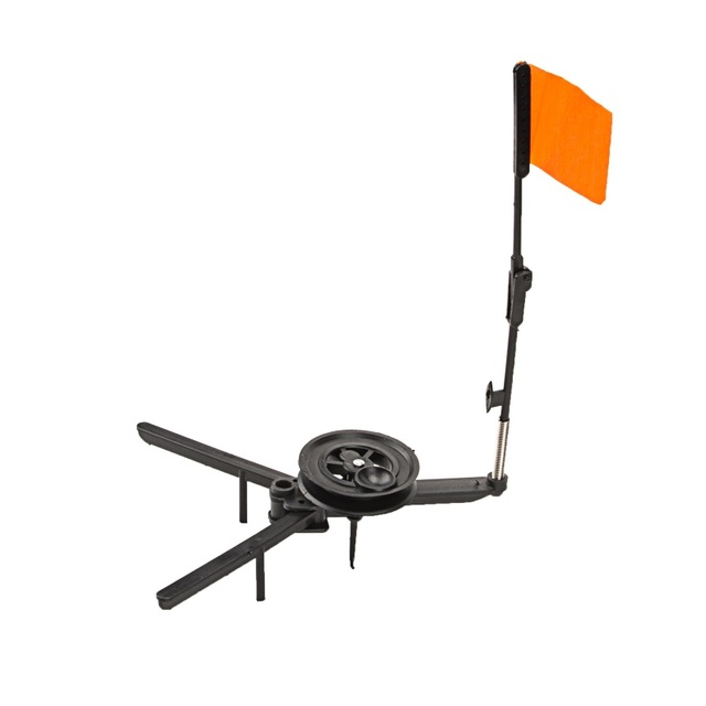 Winter Ice Fishing Tool for Marine Inflatable Boat Canoe Yacht Nylon Kayak Dinghy Safety Flag Base Mount Replacement
