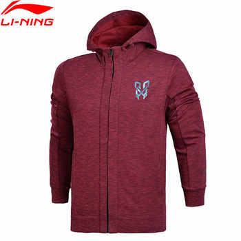 Li-Ning Men Basketball FZ Knit Hoodie Jackets Regular Fit Professional Fitness Comfort LiNing Sports Sweaters AWDN123 MWW1373 - DISCOUNT ITEM  35% OFF Sports & Entertainment