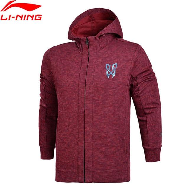 Li-Ning Men Basketball FZ Knit Hoodie Jackets Regular Fit Professional Fitness Comfort LiNing Sports Sweaters AWDN123 MWW1373