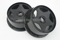 Free Shipping - R/C 1/5 Baja 5B Front Super Star Wheel hub x 2pcs/pair