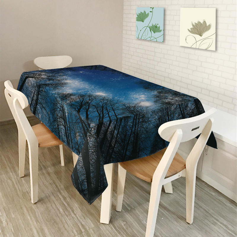 2017new Nordic Rural Fantasy Series Landscape Pattern Home Decor Rhaliexpress: Home Decor Tablecloth At Home Improvement Advice