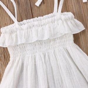 Emmababy Kleinkind Infant Kinder Baby Mädchen Sommer Ärmelloses Kleid Prinzessin Party Hochzeit Tutu Kleider