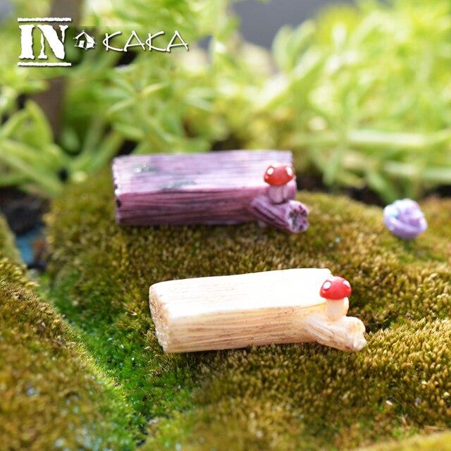 Mini Arbre Banc Chaise Chiffres Micro Fee Jardin Miniature