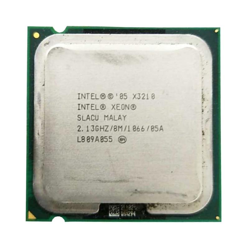 Intel Xeon X3210 Processor Quad Core Cpu 2.13GHz LGA 775 /8M/ 1066MHz Server CPU