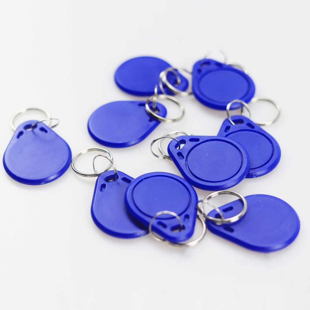 5 pcs / lot  13.56 MHZ RFID  IC Card Token Tags Key Keyfobs for Access Control entrance mechine