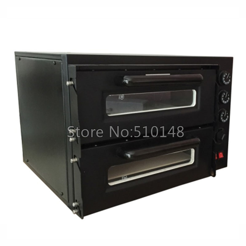 Promotion NB300 Electric pizza oven Stainless steel bakery oven Fire stone high temperature restaurant pizza machine