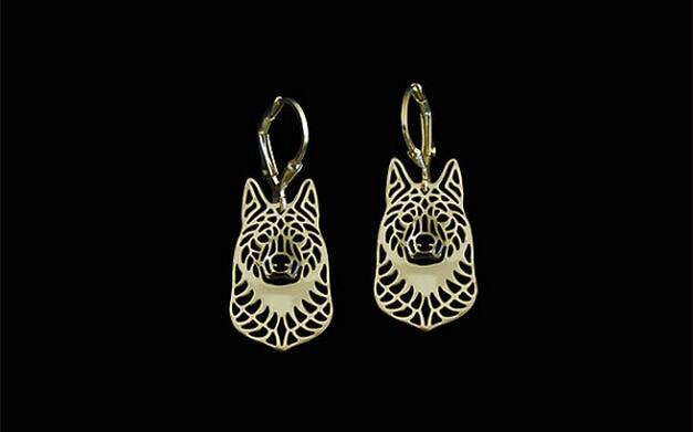 Unici fatti a mano stile hiphop norvegese elkhound della ragazza degli  orecchini regalo dei monili di goccia orecchini-12 paris lot (6 colori  libera scelta) fe531ad8230b
