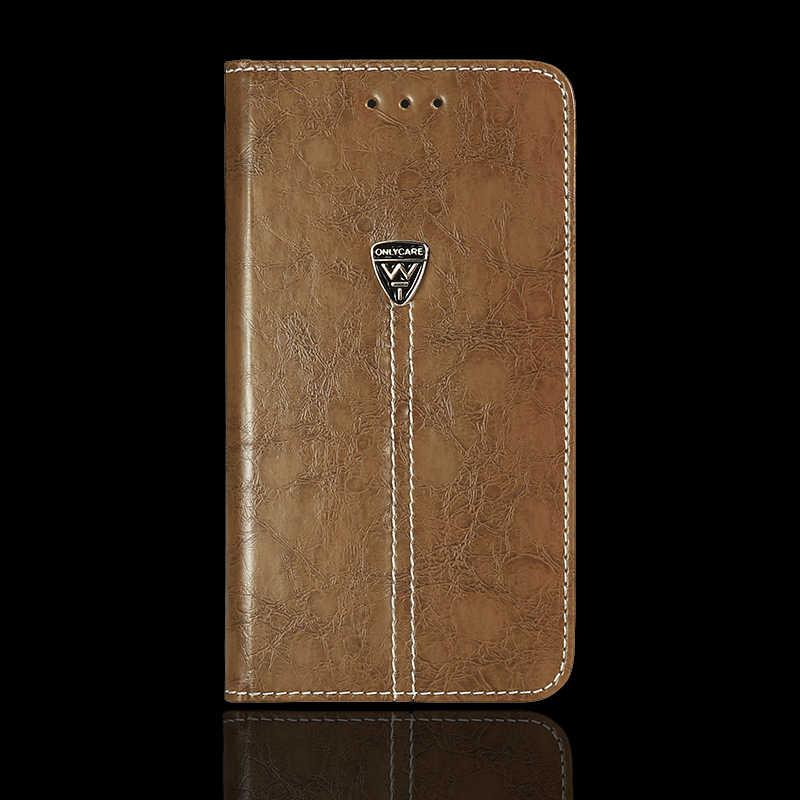 Vintage Dompet Case untuk Dexp Ixion ML245 Electron 4.5 Inch PU Kulit Buku Klasik Flip Penutup Magnetik Fashion Kasus
