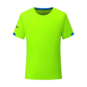 Image 3 - Mens T shirts Fashion Solid Color Short Sleeves Quick drying breathable Slim Fit Mens Summer t shirt