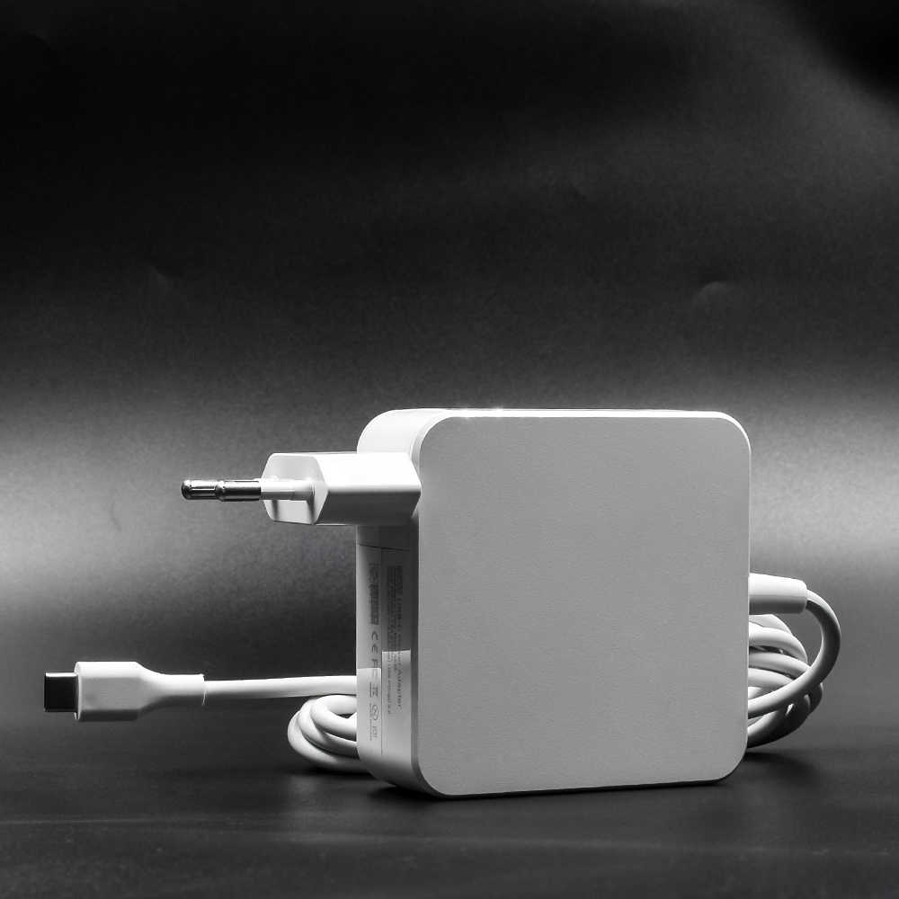 Universal 29W 45W 61W 65W แล็ปท็อป USB Type C Power Adapter Charger สำหรับ Lenovo Asus HP Dell Xiaomi Huawei Google 4 ปลั๊ก