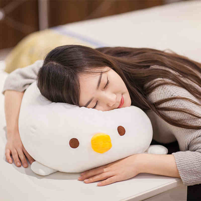 2018 Very Soft Fluffy Cook Baby Plush Chicken Toys Plush Stuffed Animals Pillow Brinquedos Kids Sleeping Toys Lovely Gifts WW330