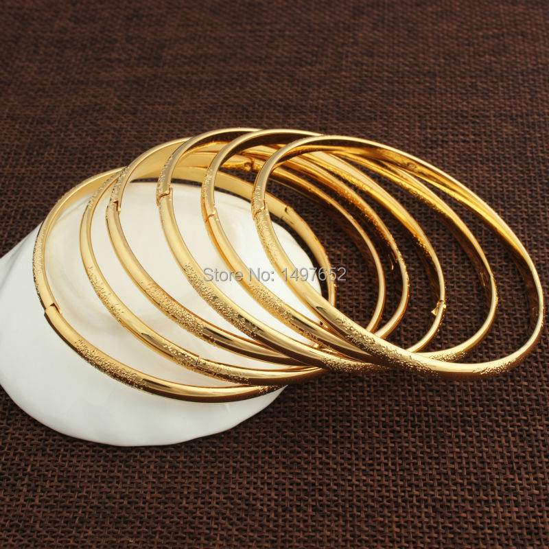 Fashion Jewelry Dubai Gold Bangle For Men Women Color Bracelets Bangles African Arab India In From Accessories On