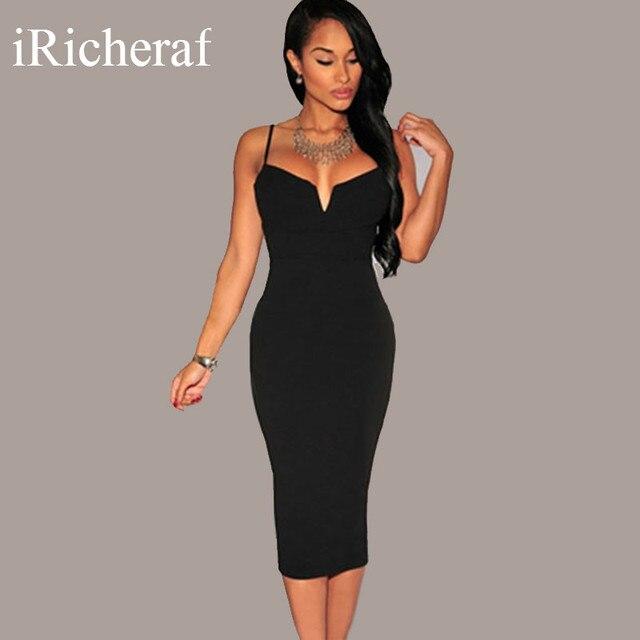 67695b740 iRicheraf Off Shoulder Dress Knee length High Slit Summer Sexy V ...