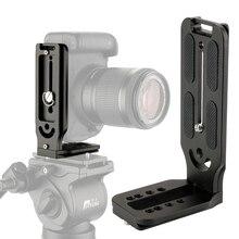 Camera Stand L Beugel Plaat Mount Camera Verticaal Portret Modus voor Canon Nikon op Zhiyun Crane 2 DJI Ronin S stabilisator