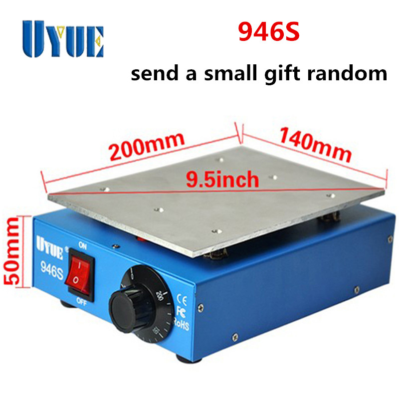 ФОТО Free Shipping UYUE 946S LCD Separator Screen Machine Assembly Preheating Station Machine For iphone Samsung iphone Repair