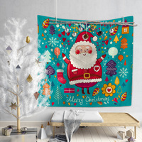 Ouneed tapestry Christmas Mandala Tapestry Indian Wall Furniture Bedspreads Shower Curtains GIFT