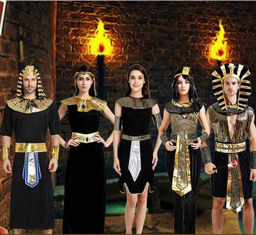 egypt cosplay adult halloween costumes egyptian pharaoh costume lovers dress arabia clothing rome warrior clothes greek dress