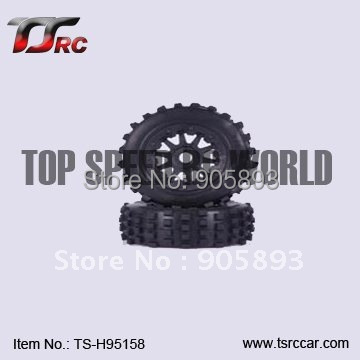5T Knobby Front Wheel Set (2)for Baja 5T Parts(TS-H95158),wholesale and retail+Free shipping!!!(Without Inner Foam ) baja 5t front on road wheel set for 1 5 baja 5t ts h95166 wholesale and retail free shipping