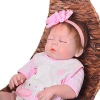 57cm bebes Reborn Dolls Realistic newborn baby Doll soft corpo de silicone realista dolls lol boneca reborn gift