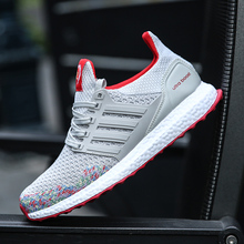 Summer Autumn Male Shoes Men's Shoes Gray Bottoms Casual Shoes Men Trainers Shoe Fly Weave Ultras Boosts Krasovki XX-178