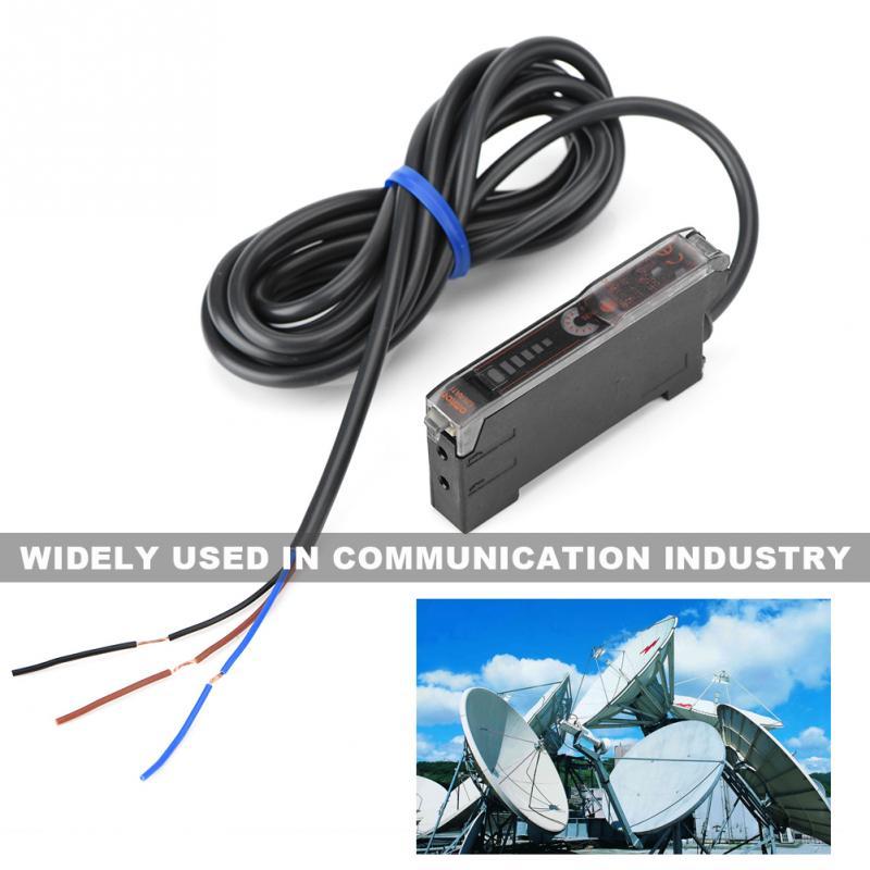 Plastic 10-30V Optic Fiber Amplifier Sensor Photoelectric Sensor 2018 new style Photoelectrics Sensors